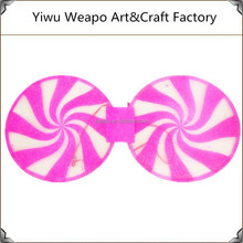 Wholesale Pink Color hot sale round shape fancy wings girls party wings BW-135