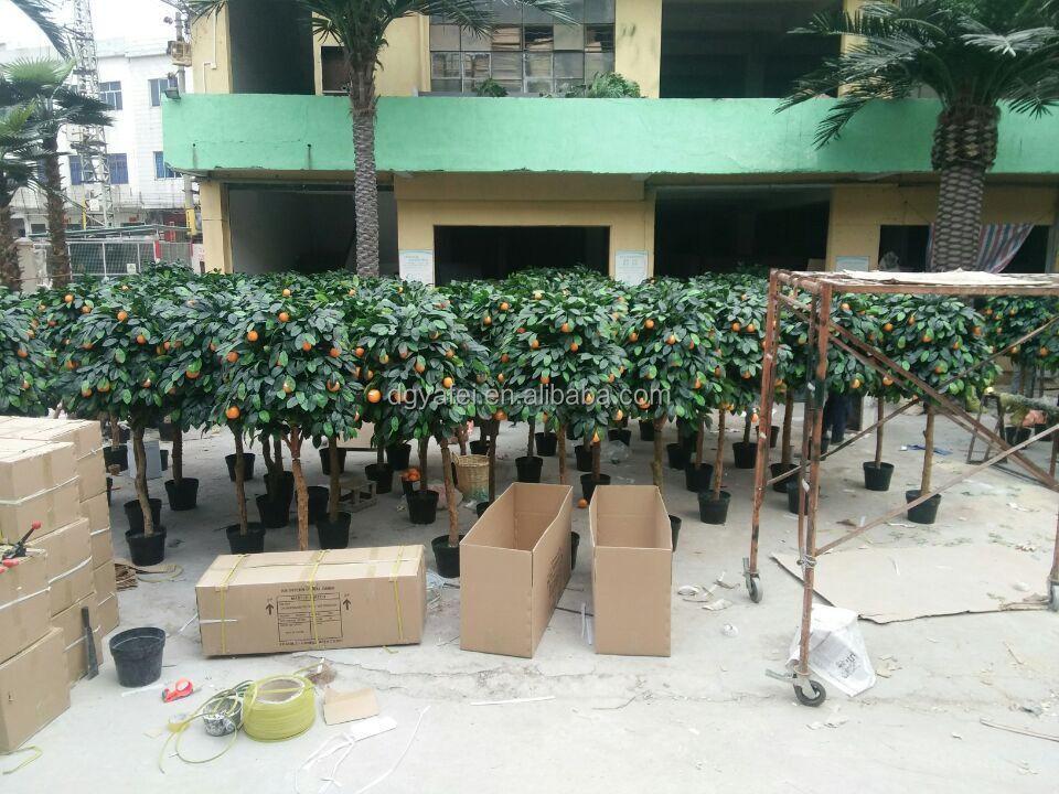 Nouveaux produits faux ficus arbre artificielle vert for Arbre artificiel pour interieur