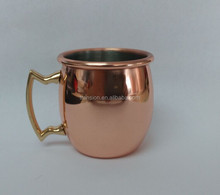 2015 304# Stainless steel solid copper plated Old Dutch International 60ml/ 2-Ounce manufacturer moscow mule Copper Mug