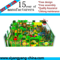 Hot indoor soft play house for kids
