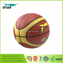 High quality official size and weight size 7 pvc laminated basketball