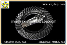 professionla axle spiral bevel gear manufacture 8:37 7:37 6:37 8:39 10:37 bevel steering gear for axles