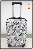Mickey mouse print ABS/PC hardside luggage/ Trolley Luggage