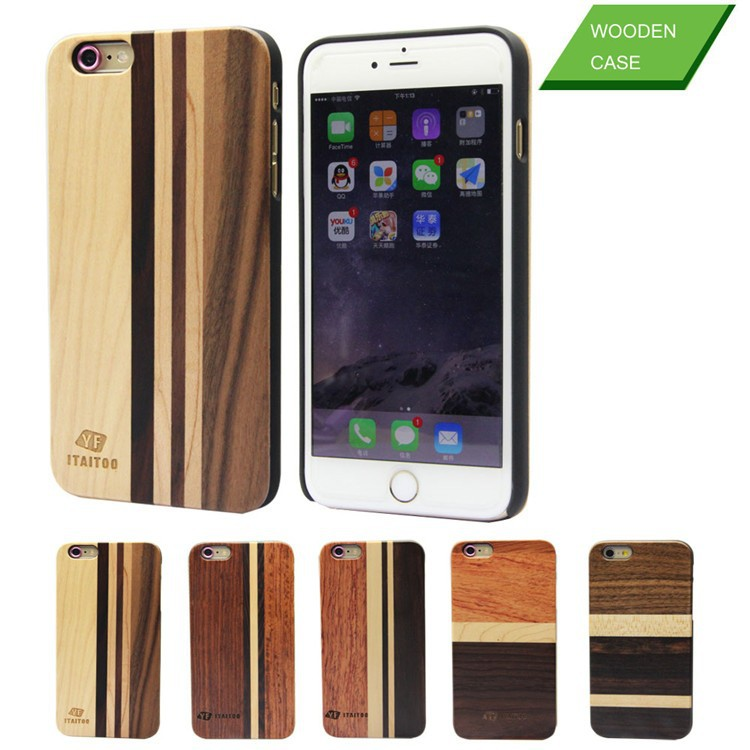 2015 selling design cell phone cases mixed wood unique 4 selling design