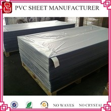 High Gloss Solid color rigid PVC sheet for furniture decoration