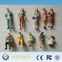 1;100variou sexy male female plastic figure/fondle admiringly miniature figure