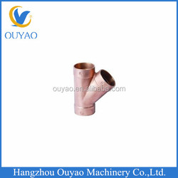 Bronze Casting Pipe Fittings 1 1/2 Bronze 3-Way Tee Fittings