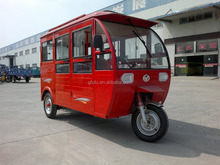 electric tricycle three wheeler 1.2KW motor with closed body