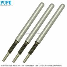 CNC precision axis machining custom steel fabrication robotic parts hard chromium plated