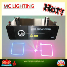 2015 professional disco lighting / 5w RGB Full Color Animation laser show system With Flight Case On sale