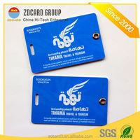 Customized printing plastic pvc luggage tag maker