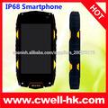 Robusto teléfono ip68 impermeable 4,0 pulgadas IPS Screen Dual SIM WIFI GPS 5.0MP