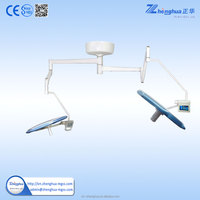 operation light led dental lighting cupola with double arm