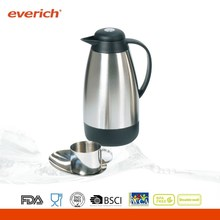 Promotional tall personalized stainless steel coffee pot