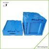 Large foldable plastic boxes with lock