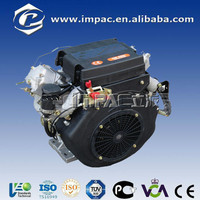 factory price 20hp two cylinder diesel engine