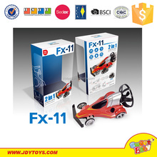 Fineco FX-11 2015 Newest 2 in 1 rc CAR and UFO r/c Aircraft Ascend and Decend flying for UFO
