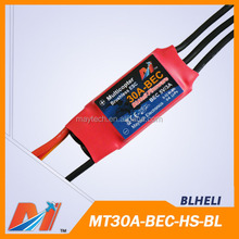 Maytech remote control motor speed esc 30A with bec for brushless rc engine