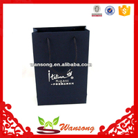 factory custom cheap paper shopping bag for cloth, luxury smart shopping paper bag