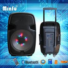 15 inch subwoofer wireless live sound speaker system