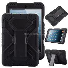 robot slim armor case for ipad mini with kickstand, Armor tablet case accessory for ipad mini