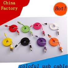 China factory usb cable tv adapter for Smartphones charging usb cord
