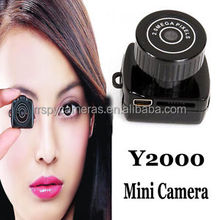 Y2000 Ultra Mini 2.0MP CMOS Digital Video Camcorder w/ SD Card Slot,very very small hidden camera,Mini DV Video Camera Camcorder