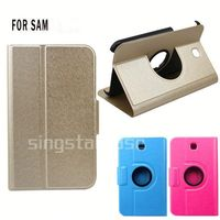 china supplier leather flip cover case for samsung galaxy tab 3 7.0