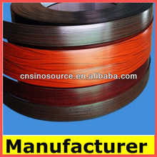 China manufactue pvc edge banding for furniture fittings