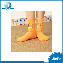 Office ladies high grade nylon spandex cotton polyester bamboo wool soft solid joker Easy Matching anklet socks