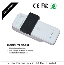 Unique model mobile phone/mp3/mp4/camera type inside battery portable usb universal charger set