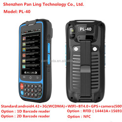 PL40 AH023 4 inch rugged 3G phone MTK6572 IP65 dual sim cell phone Waterproof