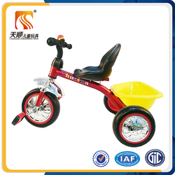 China tricycle factory kids pedal trike 3 big wheel children trike for sale