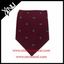 Mens Fashion Jacquard Woven Private Label Fine Silk Ties