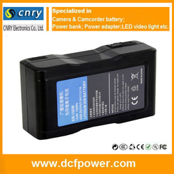 14.8V 10400mAh Professional AN-150W FOR PANASONIC Broadcast Camera Battery Rechargeable Auton Bauer Gold Mount Battery China