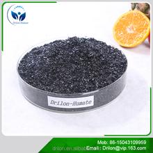 Drilon Sodium Humate Shiny Flake Organic Fish Fertilizer