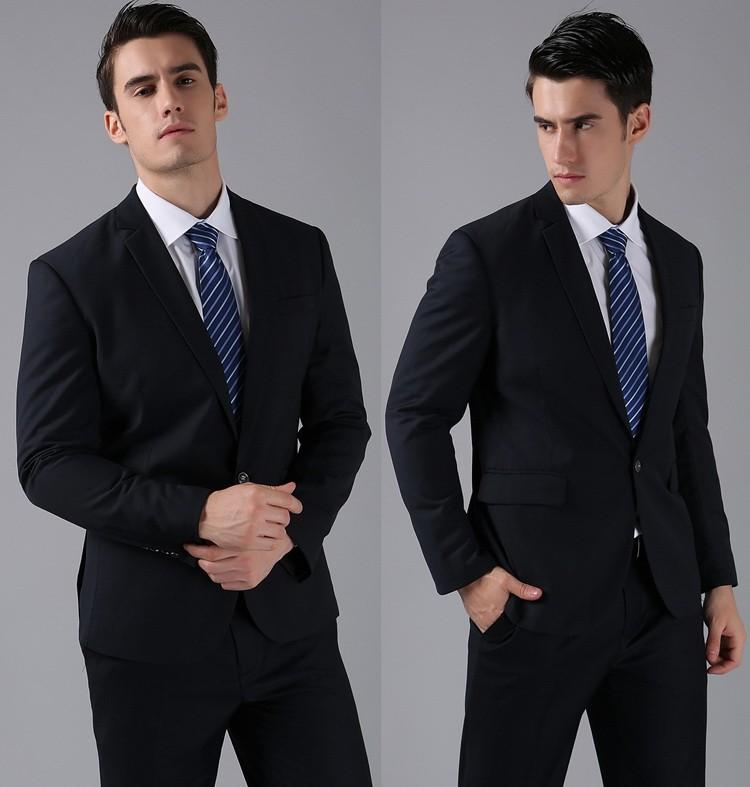 HTB1LDFkFVXXXXbQXVXXq6xXFXXXo - (Jackets+Pants) 2016 New Men Suits Slim Custom Fit Tuxedo Brand Fashion Bridegroon Business Dress Wedding Suits Blazer H0285
