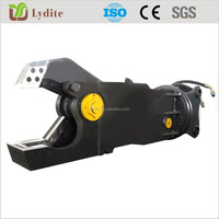 Excavator metal cutter hydraulic sheet metal shear