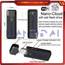 WIFI usb flash drive Cloud storage Wireless usb drive for iphone ipad android