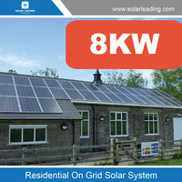 New design 8kw complete home solar power system include panel photovoltaic for Panama market