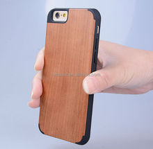 For iphone6 wood protective mobile phone case cover/pc case for iphone6