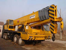 Sales of used 80tons tadano cranes