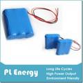 Inteligente medidor de água da bateria 6600 mah 3.7v li-ion bateria