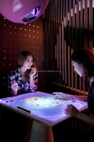 Hot sales!Finger touch portable interactive table,multi touches for game