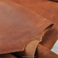 Antique Crazy Horse leather cow hides for casual shoes leather