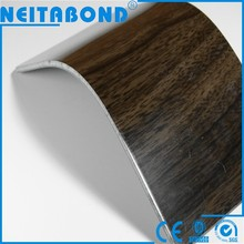Neitabond Aluminum Composite wood walnut