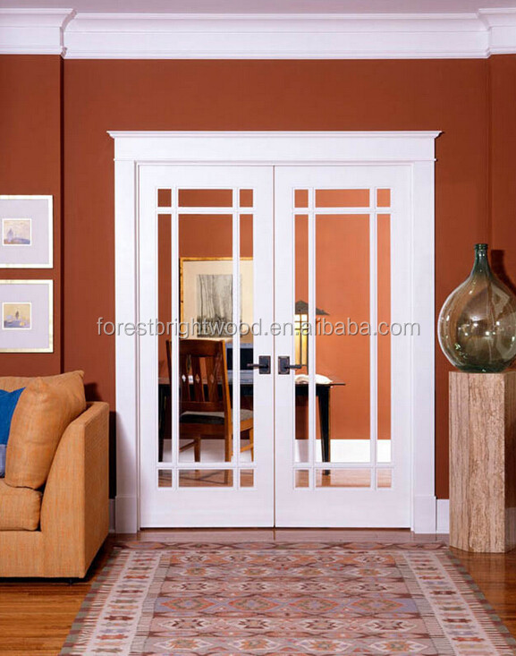 Swing type patio doors white wooden double french doors for Types of patio doors