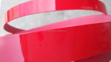 Roma quality good glue red glossy pvc edge banding used on edge banding machine