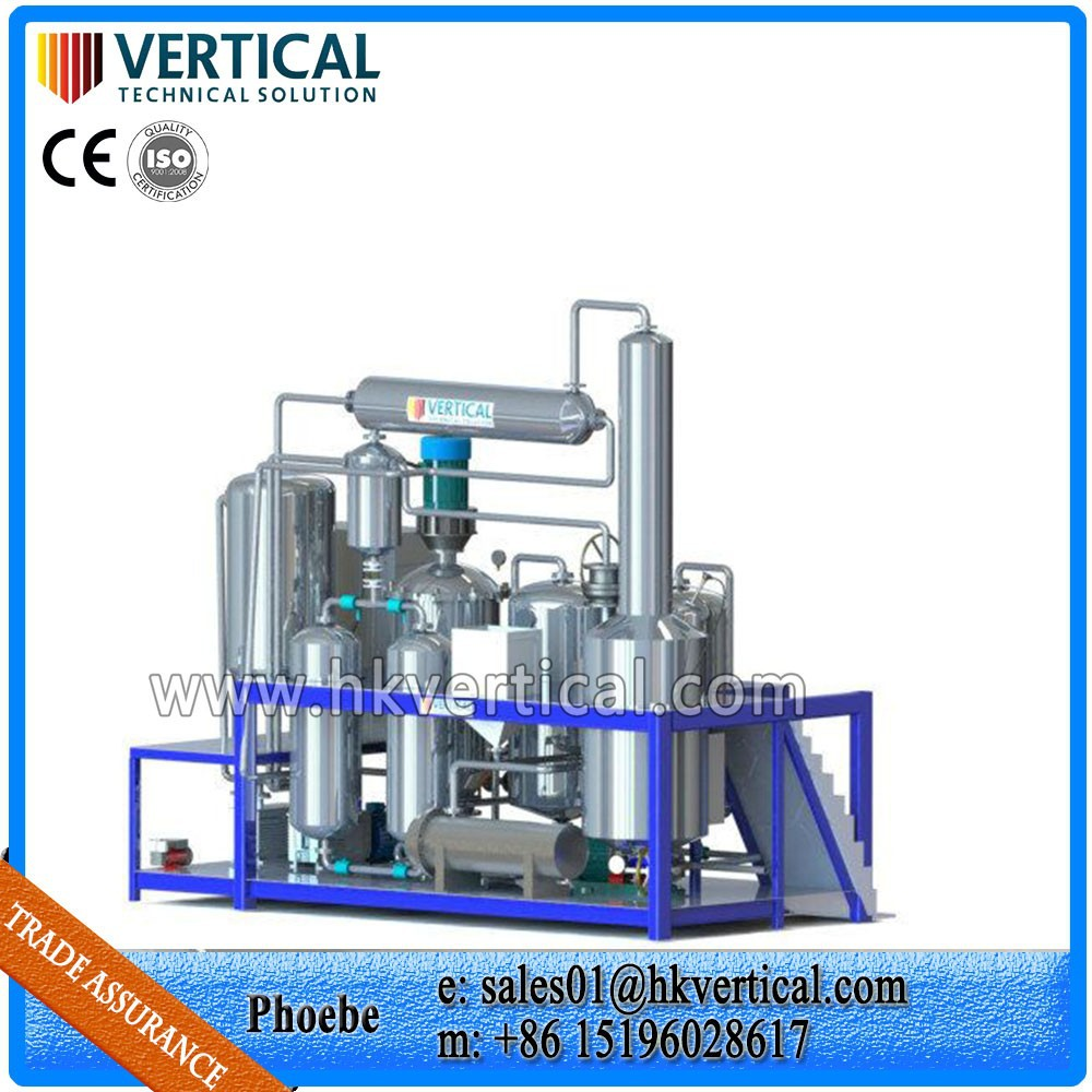 Vts pp used waste motor oil recycling plant black used for How to recycle used motor oil