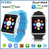 4 COLORS DOM OEM mobile phone watch 4g For Apple/Samsung S5/Android